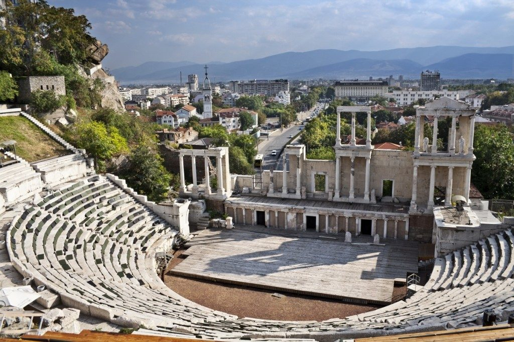 Amphitheater Plovdiv older