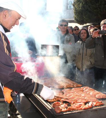 Kosharitsa festival sausages